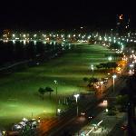 Vista nocturna desde la terraza del Hotel Arena