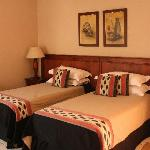 Twin or double rooms available