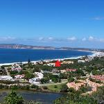 Arial View Plettenberg Bay