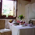 B&B La Colombara.Lake Garda.Breakfast Room.Sala della Colazione.