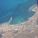 Corralejo from the air