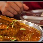 Fish curry at Jothy's