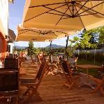 Terrace - Ahotel hotel Ljubljana