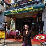 Front of Tu Ahn's Cafe