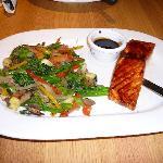 Salmon at California Pizza Kitchen