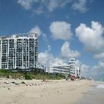 Beach near hotel