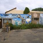 Santa Fe Hostel Entrance