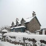 Dunallan in the snow
