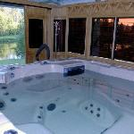 Outsdide Hot Tub