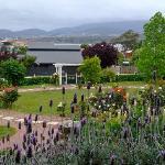 View from Orana House of Hobart CBD