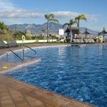 swimming pool in Malibu Mansions