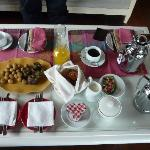 The welcome breakfast