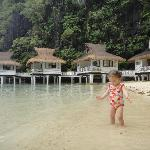 A young guest enjoying the beach :-)