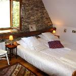 Bedroom 1 in the Converted barn - Chambre 1 de la Grange Restaurée