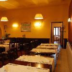 """Locanda Le Logge, Restaurant: la """"Sala Rossa"""""""