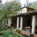 Front verandah of Hostal Colibrí