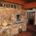 Deluxe Suite Fireplace