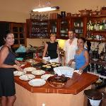 Our personal cooking course - real mexican mole!