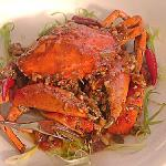 crabs on fire