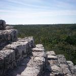 the ruins at Coba
