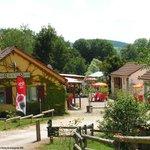 entrée camping Fougeraie en bourgogne