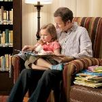 Relax with a good book from our lending library