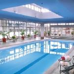 Fairmont Hotel Vancouver Indoor Pool