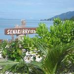 Senary Bay resort - view