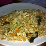Vegan fried rice yesterday on meal out