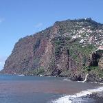 View of the cliffs from Camara de Lobos