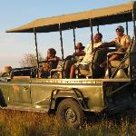 Sundowners at the Hippo Pool