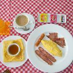 Full American Breakfast