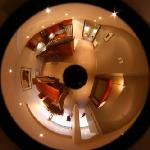 View of Apartment through Lightshade