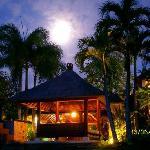 Full moon from  the villa