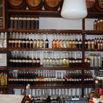 Liqueurs and jenever bottled in house