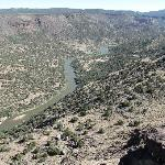 Rio Grande River from the Overlook