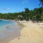 Coopers Island private beach