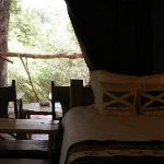 our tent in Olu Mara Camp, Masai Mara