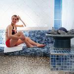 Sauna-Bereich im Hotel Wildbad in Bad Gastein