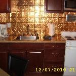 Full kitchen with all you need - new countertops too