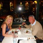A romantic dinner at the Sarah Bernhadt Restaurant - Superb!