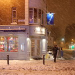 yes - we're open; it's only snow!
