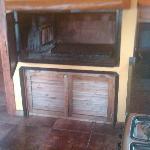 in kitchen parilla
