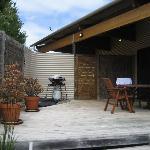 Studio 1 patio