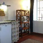cucina miniappartamento GARDENIA