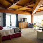Oversized guest suites