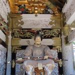 Detalle de templo en Nikko