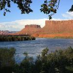 vistas al Colorado y al paisaje, desde la terraza de nuestra habitación ^_^