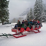 Icicle Outfitters Winter Sleigh Ride Foto