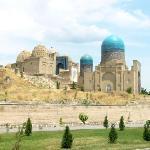 Gur-i-Emir Mausoleum in Samarkand